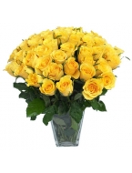 100 Long Stem Yellow Roses