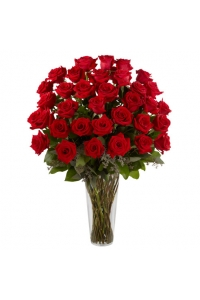 36 Long Stem Red Roses