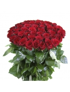50 Long Stem Red Rose Bouquet