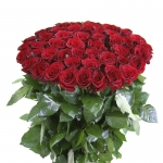 Long-Stemmed Red Roses