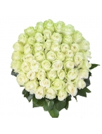 400 Long Stem White Roses
