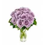 25 Grand Box Lavender Rose Bouquet