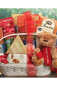 Bear Hugs Happy Birthday Gift Basket