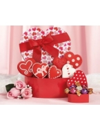 Valentine Cookie and Godiva Truffle Assortment