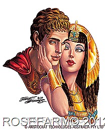 Cleopatra and marc anthony story